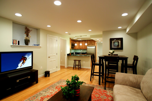 Small basement decorating and designing