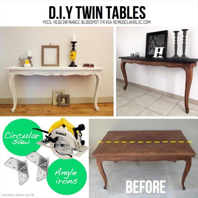 DIY Furniture projects ideas