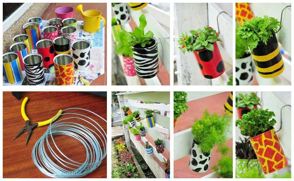 Easy diy projects for home with inexpensive things for Diy crafts using recycled materials