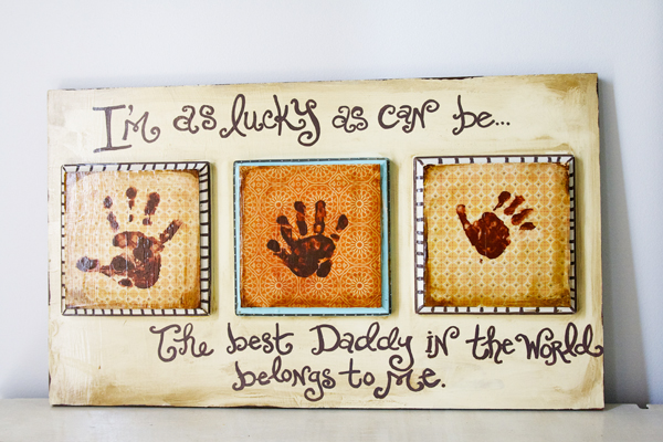 Cheap handmade gifts for father's day