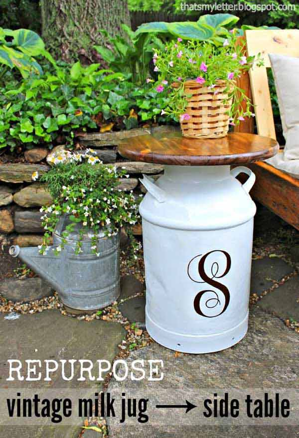 DIY backyard ideas from recycling