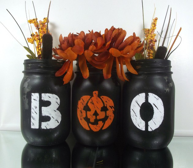 DIY Recycled Halloween crafts