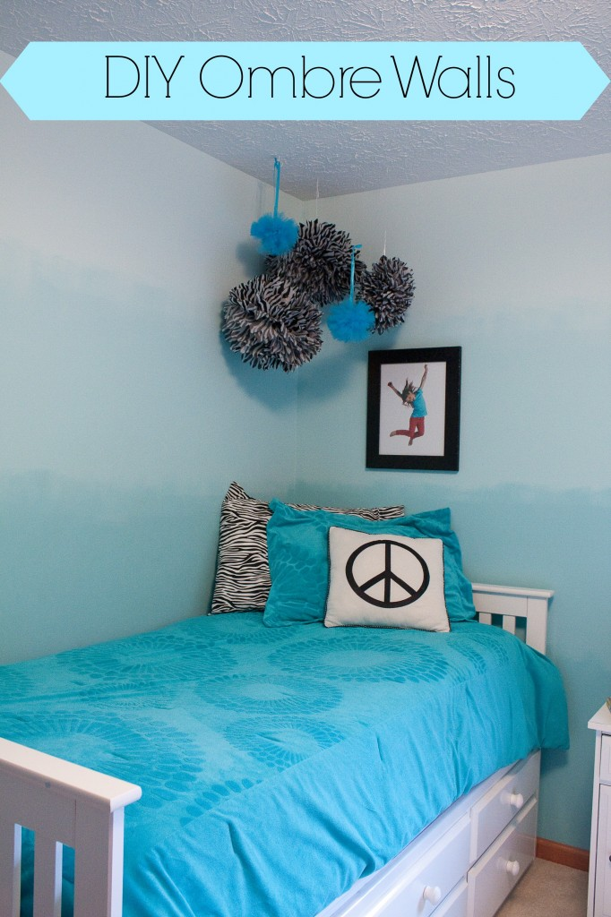 DIY teenage bedroom paint Ideas