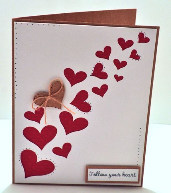 Creative DIY valentine cards