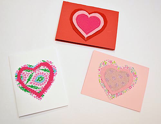 DIY kids valentine cards