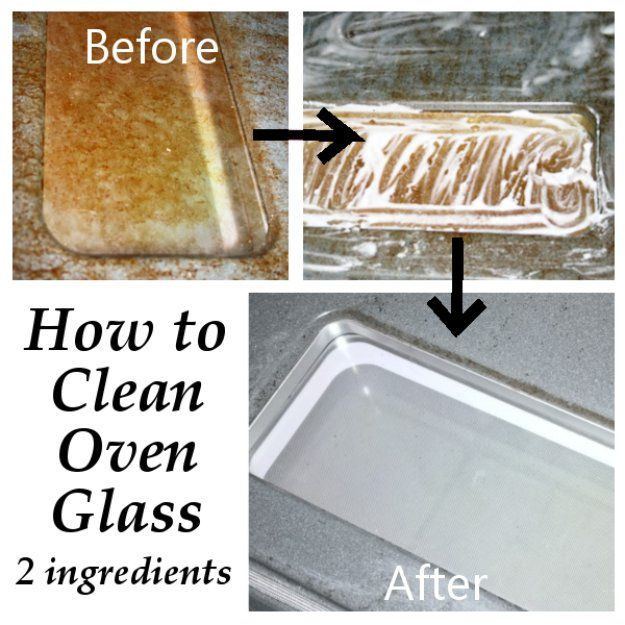 DIY oven cleaning hacks