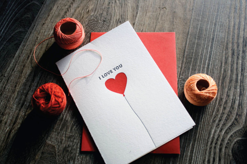 Easy last minute cards for valentine