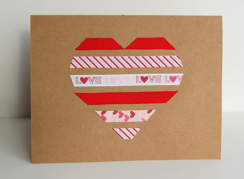 Handmade cards for valentine