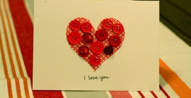 Heart Valentines card Ideas DIY