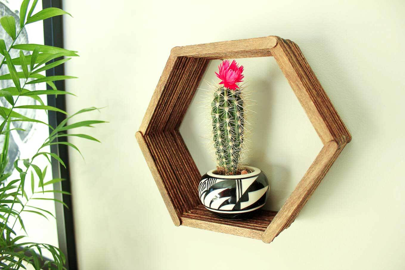 DIY art projects with Popsicle sticks